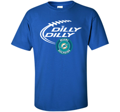 DILLY DILLY Miami dolphins shirt Custom Ultra Cotton Tshirt - PresentTees