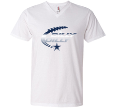 Dilly Dilly Dallas Cowboys T-Shirt Dallas Cowboys Dilly Dilly NFL Football Gift for Fans Men Printed V-Neck Tee - PresentTees