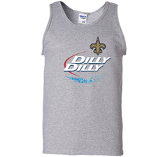 New Orleans Saints Dilly Dilly T-Shirt NFL Football Gift Fans Tank Top - PresentTees