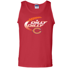 Chicago Bears Dilly Dilly T-Shirt Bud Light Christmas NFL Football Gift for Fans Tank Top - PresentTees