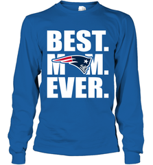 Best New England Patriots Mom Ever NFL Team Mother's Day Gift Long Sleeve T-Shirt Long Sleeve T-Shirt - PresentTees