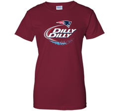 New England Patriots Dilly Dilly T-Shirt NFL Football Gift Fans Ladies Custom - PresentTees
