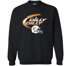 Miami Dolphins MIA Dilly Dilly Bud Light T Shirt MIA NFL Football Gift for Fans Crewneck Pullover Sweatshirt 8 oz - PresentTees