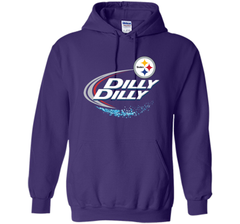 Pittsburgh Steelers Dilly Dilly T-Shirt NFL Football Gift Fans Pullover Hoodie 8 oz - PresentTees