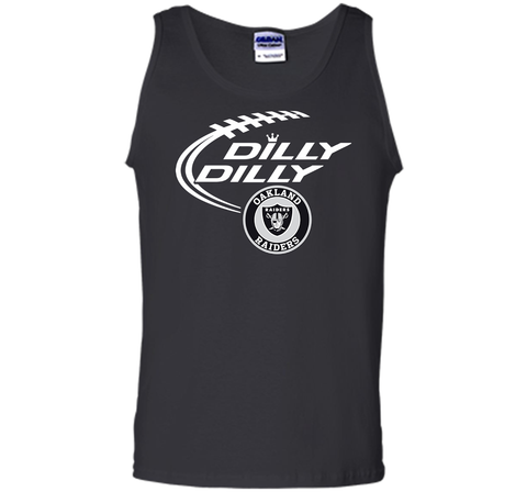 DILLY DILLY Oakland Raiders shirt Black / Small Tank Top - PresentTees