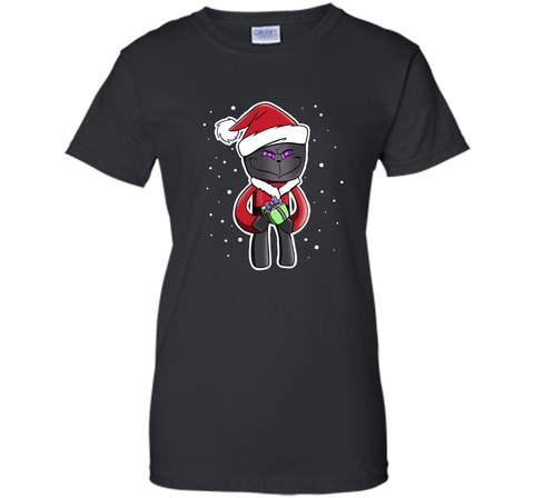 Christmas Critter T Shirts Black / Small Ladies Custom - PresentTees