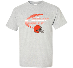 Cleveland Browns Dilly Dilly Bud Light T-Shirt NFL Football for Fans Custom Ultra Cotton Tshirt - PresentTees