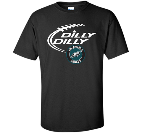DILLY DILLY Philadelphia Eagles shirt Black / Small Custom Ultra Cotton Tshirt - PresentTees