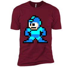 Megaman Pixel  T-Shirt Next Level Premium Short Sleeve Tee - PresentTees