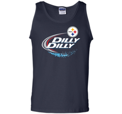Pittsburgh Steelers Dilly Dilly T-Shirt NFL Football Gift Fans Tank Top - PresentTees