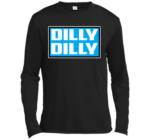 Bud Light Official Dilly Dilly Sweatshirt T Shirt Black / Small LS Moisture Absorbing Shirt - PresentTees