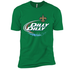 New Orleans Saints Dilly Dilly T-Shirt NFL Football Gift Fans Next Level Premium Short Sleeve Tee - PresentTees