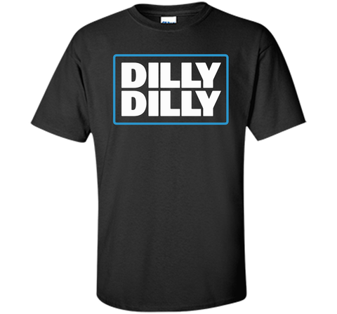 Bud Light Official Dilly Dilly Black / Small Custom Ultra Cotton Tshirt - PresentTees