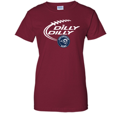 DILLY DILLY  Los Angeles Rams shirt Ladies Custom - PresentTees