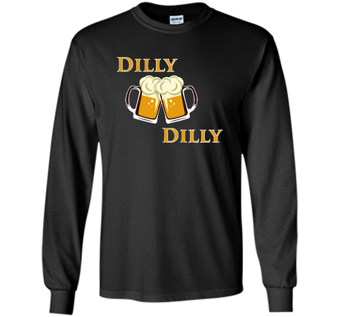 Dilly Dilly Let Make Friends T Shirt Black / Small LS Ultra Cotton TShirt - PresentTees