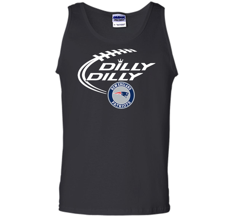 DILLY DILLY  New England Patriots shirt Black / Small Tank Top - PresentTees