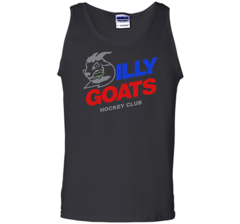 Bud Light Dilly Goats Hockey T Shirt Black / Small Tank Top - PresentTees