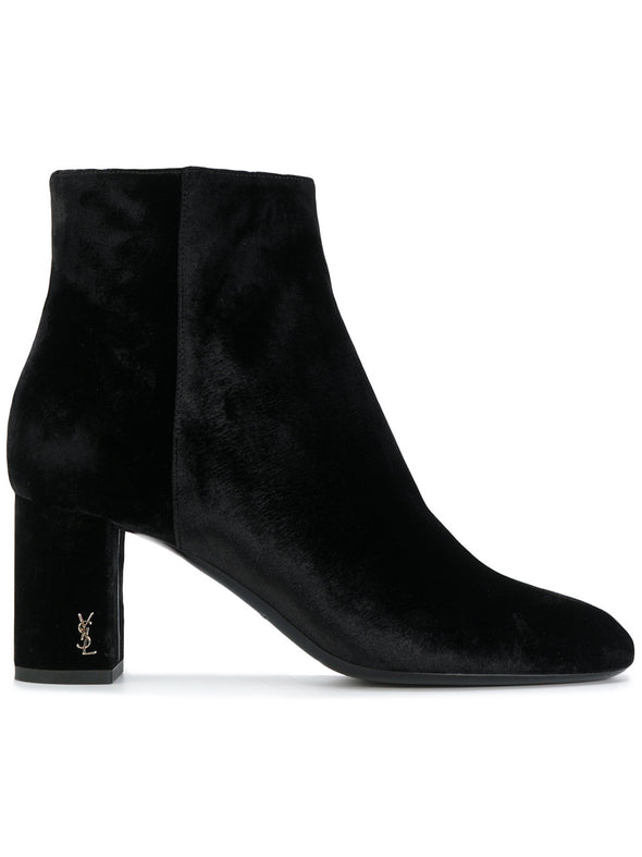 Saint Laurent LouLou 70 zip boots