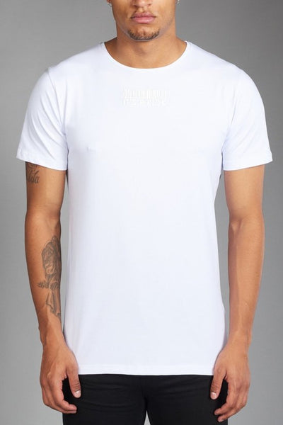 Ladder white t-shirt by Risk Sport