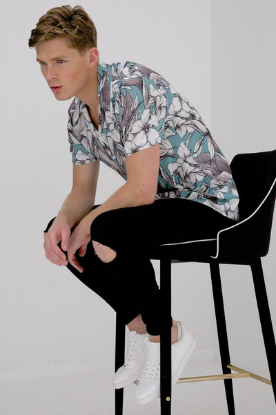 Marco short sleeve shirt floral
