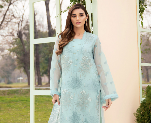 Unstitched Embroidered & Gold Collection | Lawn Shirts | Limelight