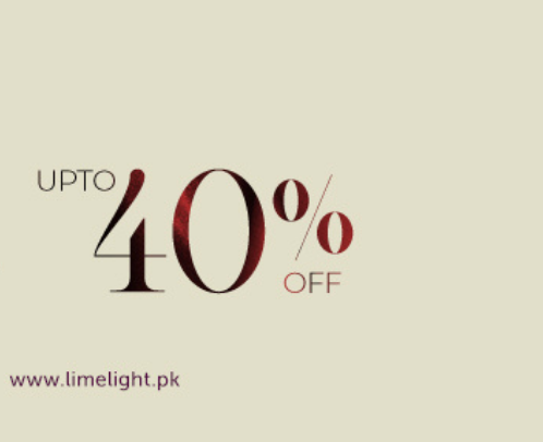 Limelight's Mega Sale - Shop Till You drop!