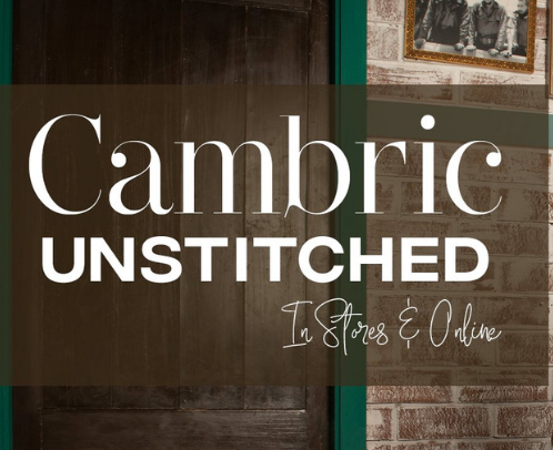 With the changing weather, Shop From Unstitched Cambric Collection For New Outfits!