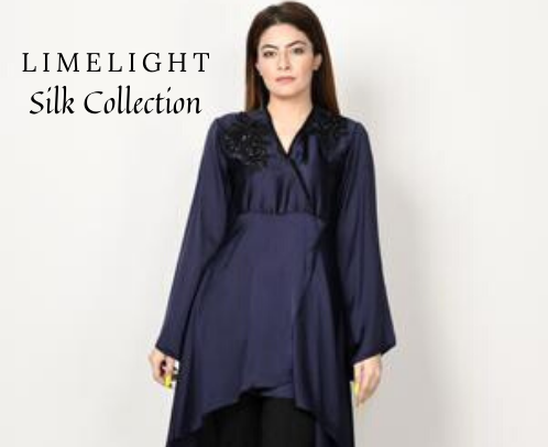 Pakistani Eid Dresses for Girls | Silk Festival Collection | LIMELIGHT