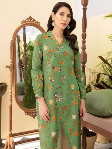 Women Unstitched Jacquard Suit | Summer Collection 2020