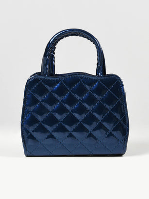 Glossy Patterned Bag
