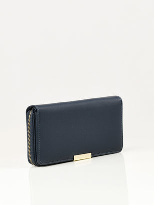 Stripe Textured Wallet