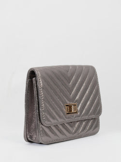 Shiny Textured Handbag