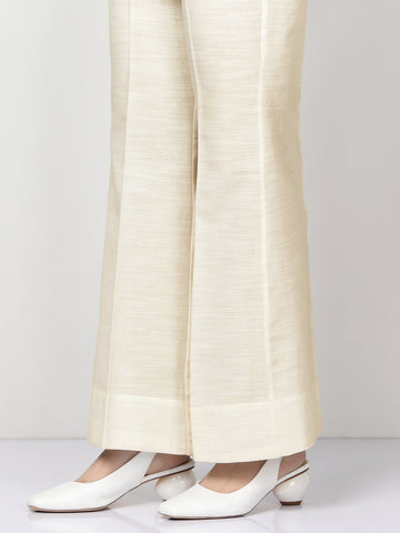 Khaddar Pants - Off White