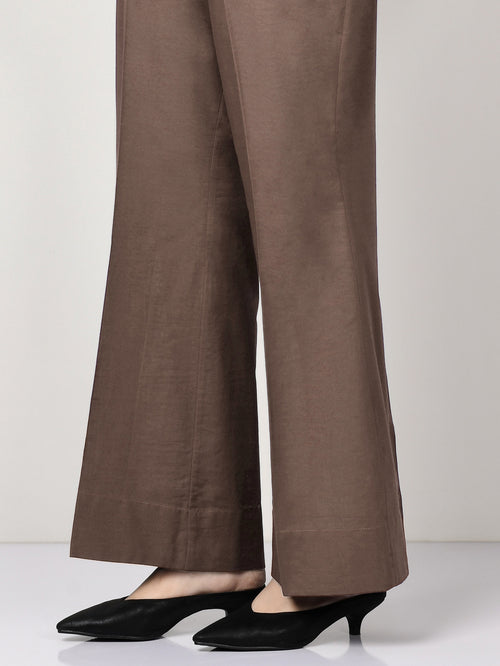 Khaddar Pants - Brown