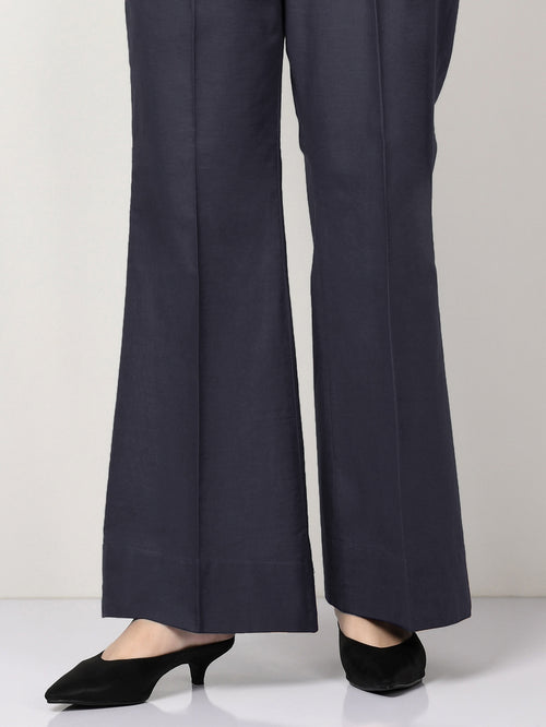 Khaddar Pants - Denim Blue