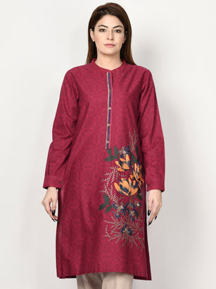 Embroidered Winter Cotton Shirt