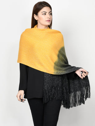 Two Toned Shimmer Shawl