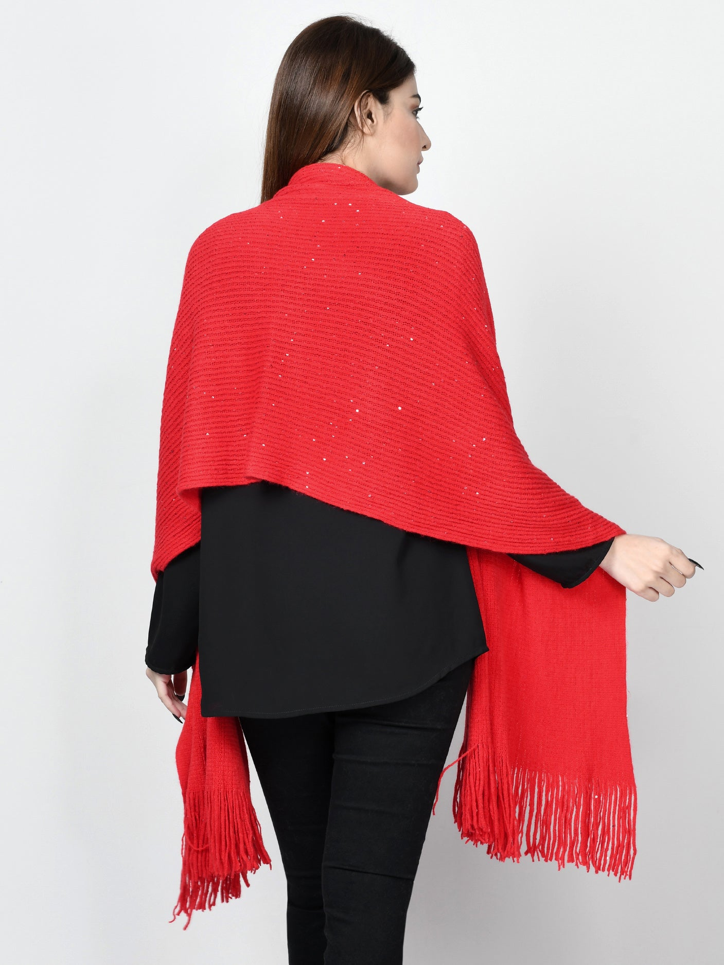 Sequined Shawl