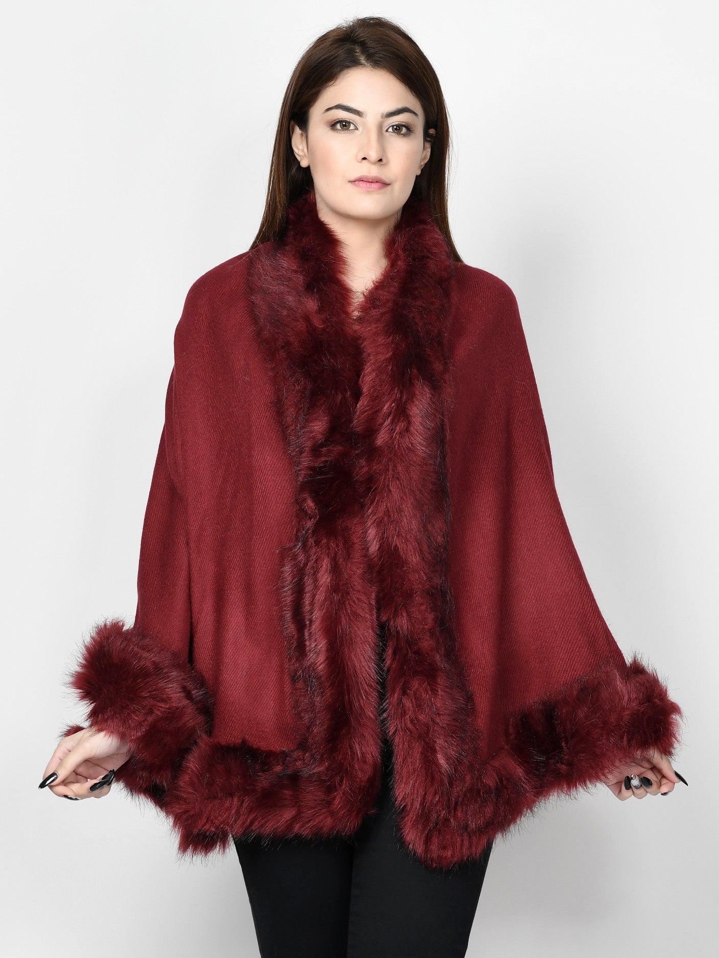 Limelight Online Classic Coat - Maroon COT91-SML-MRN