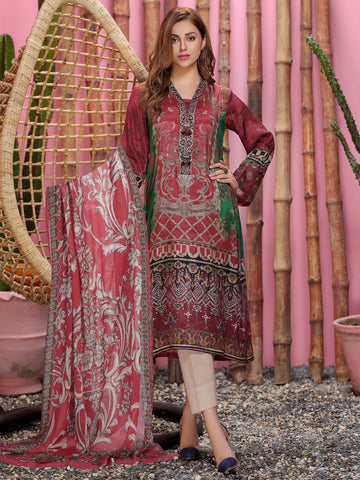 2-Pc Silk Suit