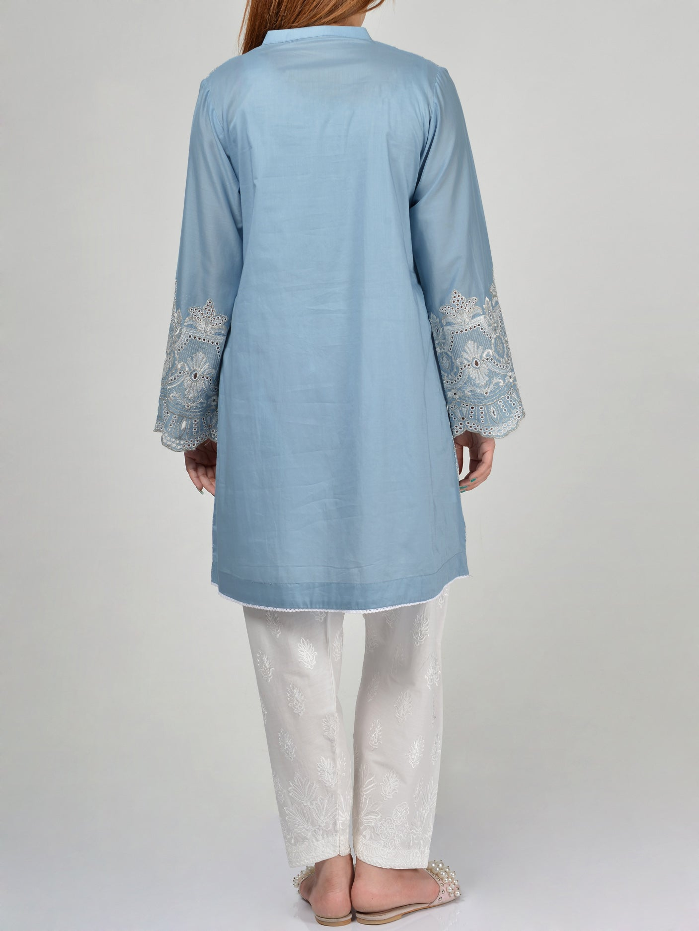 Pret Embroidered Lawn Shirt Online P0090