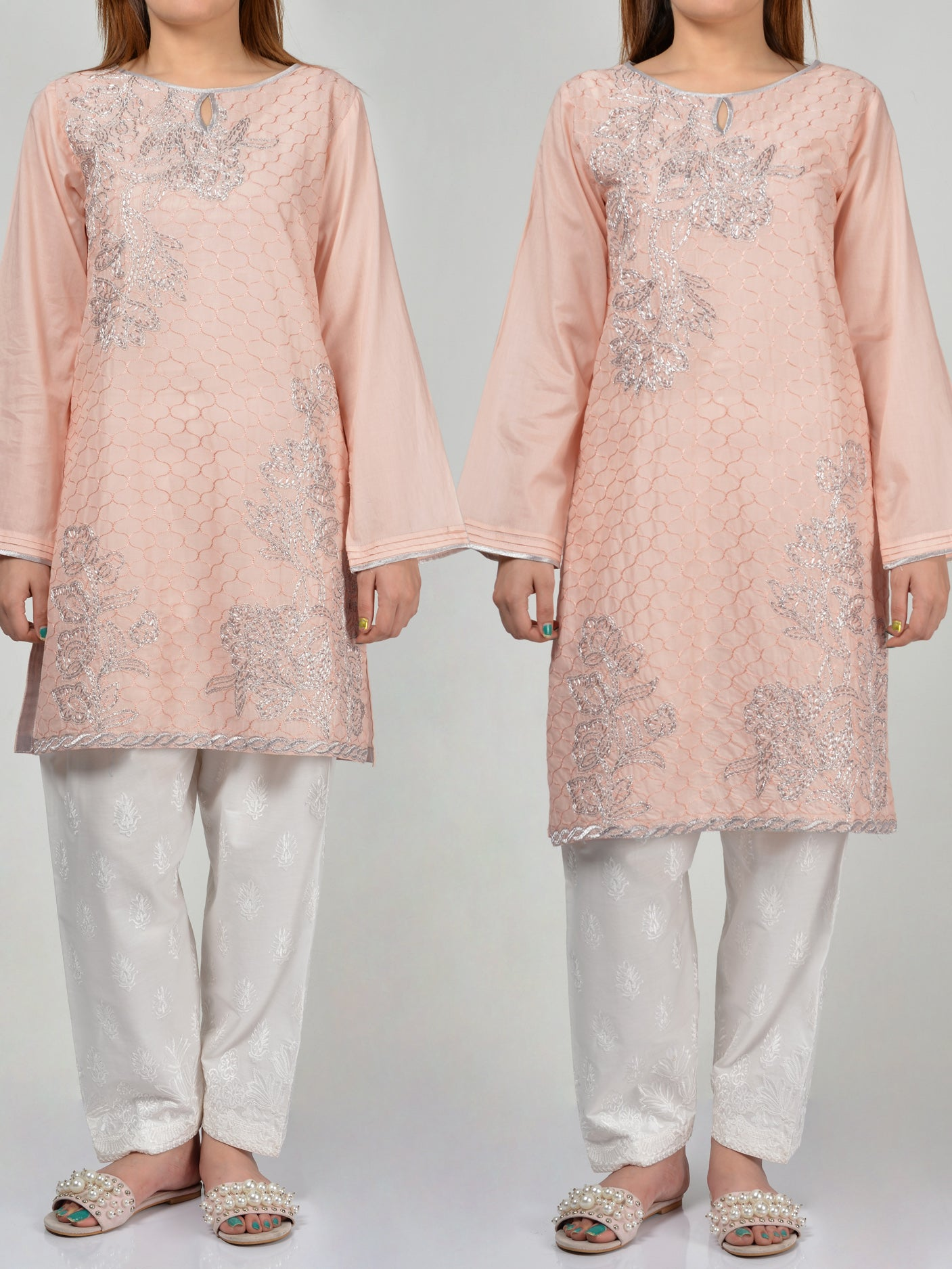 Pret Embroidered Lawn Shirt P0208 Online