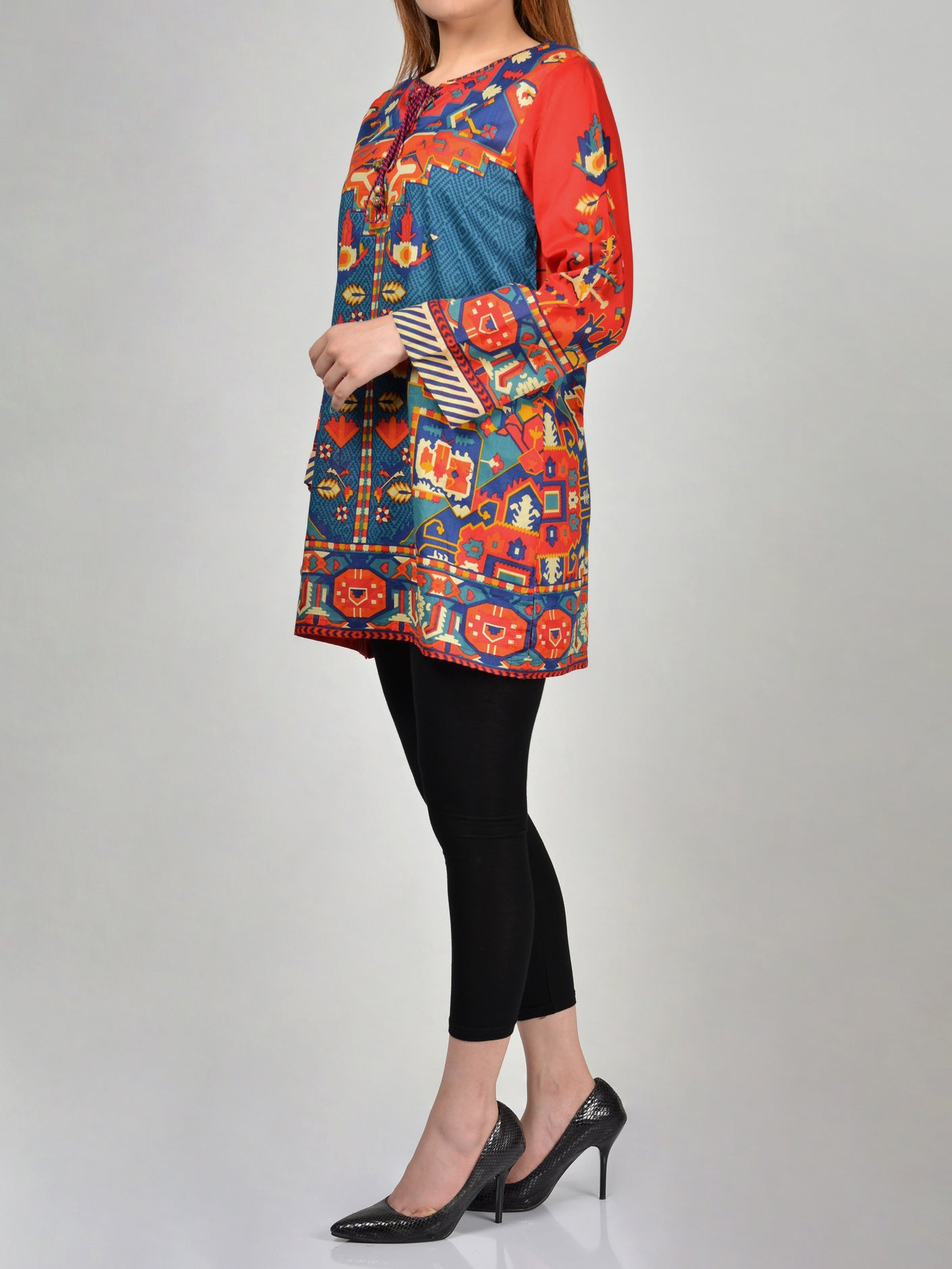 Buy Printed Lawn Shirts Online P0177