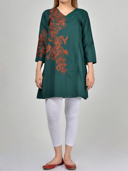 Embroidered Lawn Shirt P0137