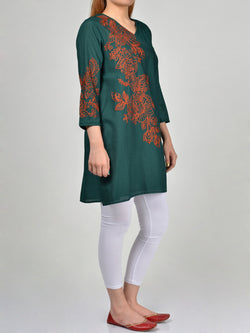 Embroidered Lawn Shirt Online P0137