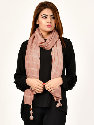 Stripe Patterned Scarf