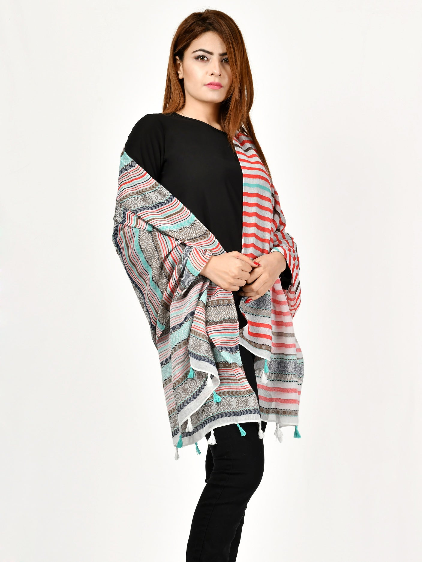 Weave Patterned Scarf