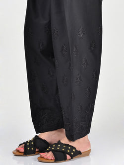 Embroidered Cambric Shalwar