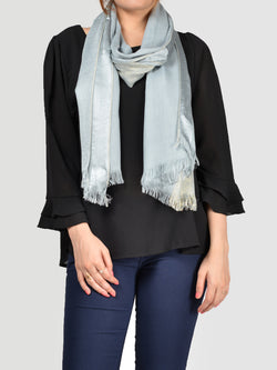 Striped Shimmer Scarf