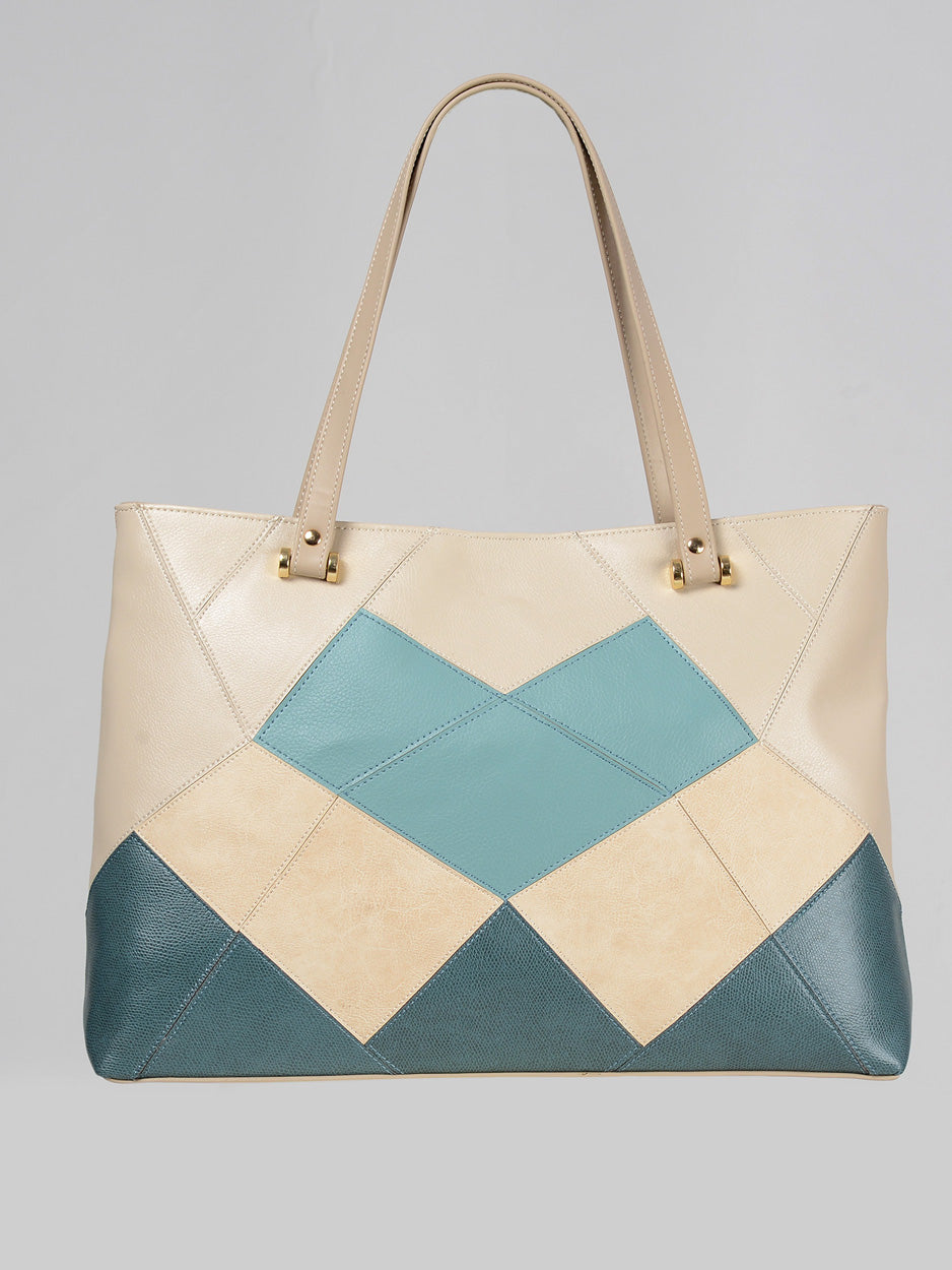 Geometric Shoulder Bag